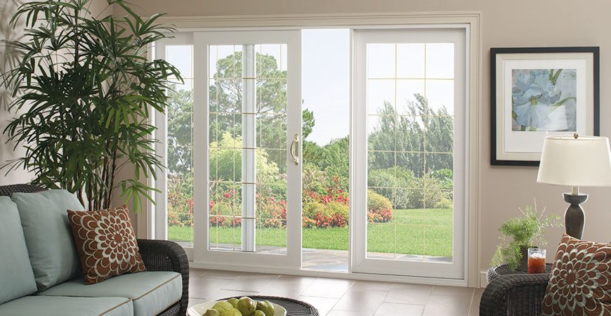 Patio door ideas and options from sunview windows and for Sliding glass doors 9ft