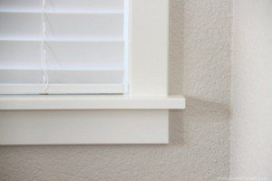 interior moulding windows