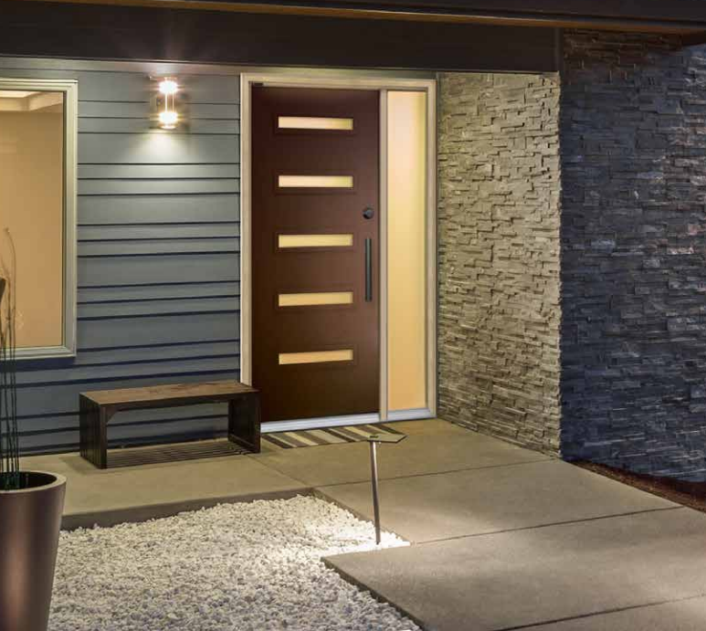 Entry door contemporary