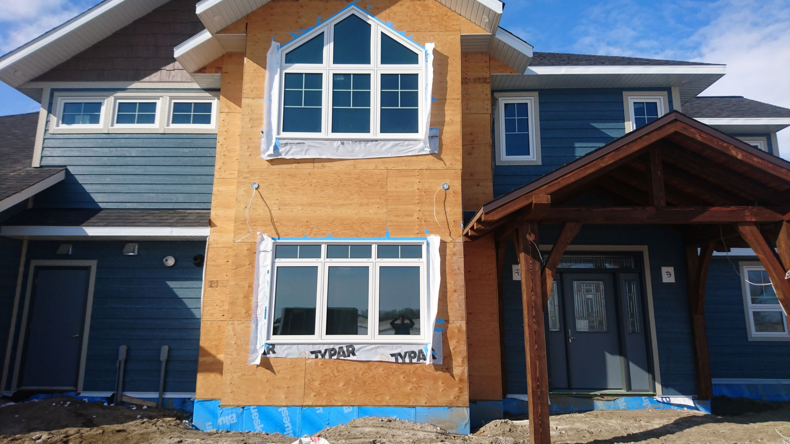 Sunview Custom Raked windows