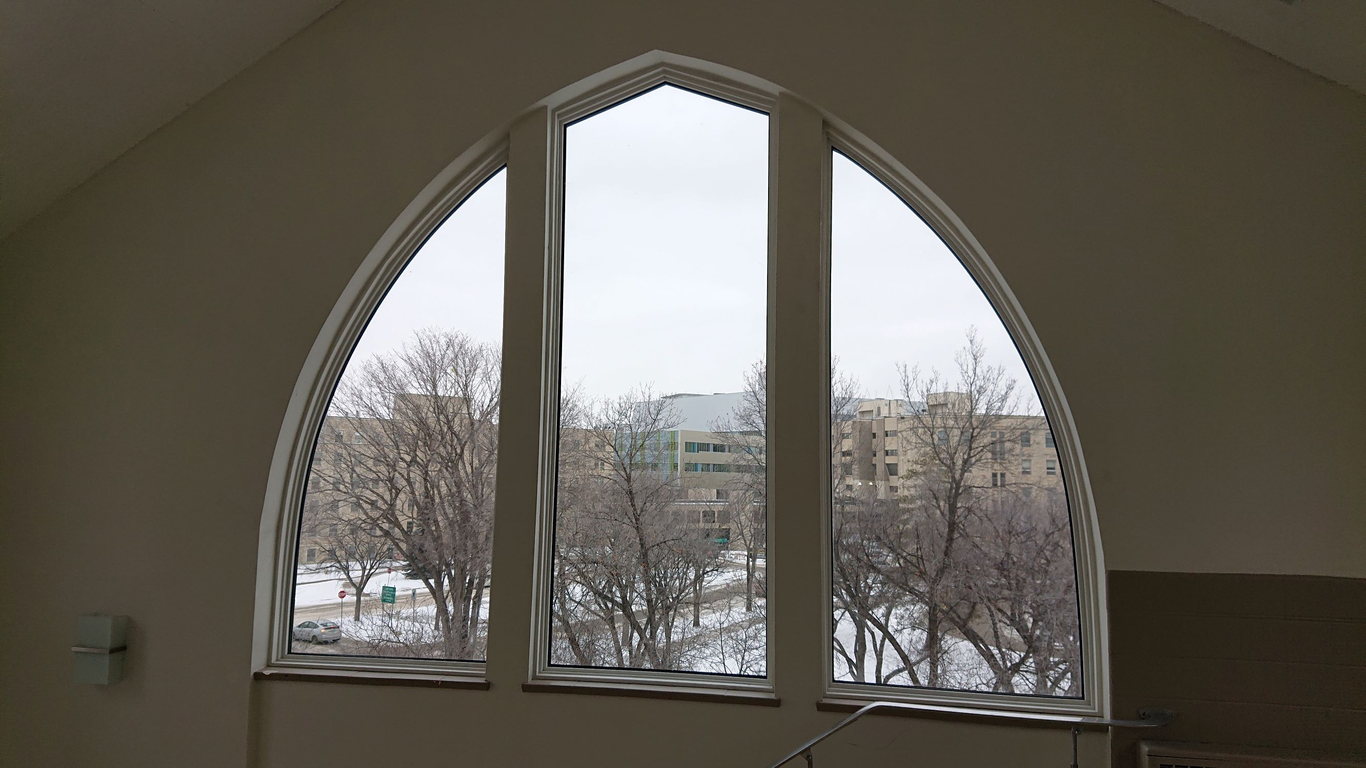 Sunview Custom curved windows Saskatoon University