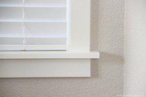 interior moulding windows